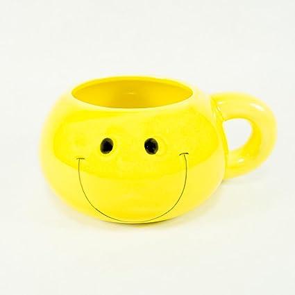 Amazon Fun Express Ceramic Smiley Face 16 Oz Mug Kitchen Dining