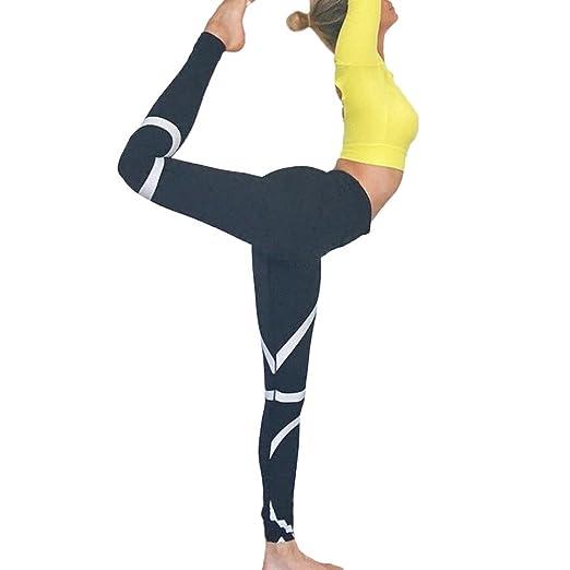 Snowfoller Women White Bold Lines Yoga Pants - Fashion Workout Leggings For  Girls - Running Gym 3b7e5c23d