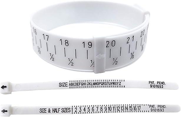 QISF - Medidor de tamaño de joyería - 1 medidor de tamaño de ...
