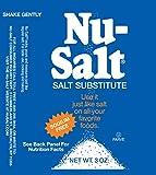 Nu Salt, 3-Ounce Shaker