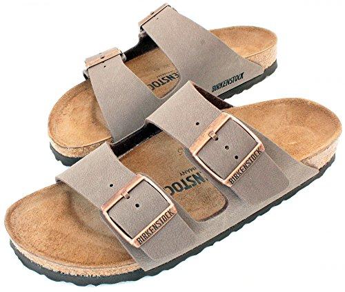 Birkenstock Arizona Mocha Birko-Flor 'Narrow Fit' Women's Sandals (9-9.5 US Women - 40 N EU) by Birkenstock (Image #6)