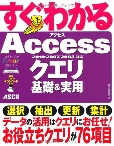 Download 2010/2007/2003 support Access query basis and practical use can be seen immediately (2012) ISBN: 4048862286 [Japanese Import] pdf epub