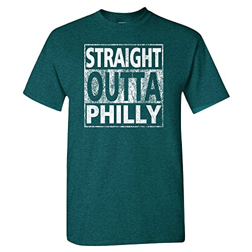 Xtreme Philadelphia Straight Outta Philly Shirt (2XL, Midnight)