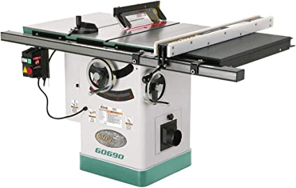Grizzly Industrial G0690-10 3HP 220V Hybrid Saw