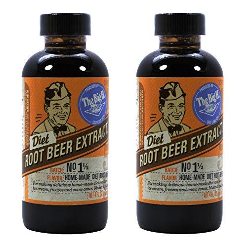 Hires Big H Diet Root Beer Extract, Make Your Own Root Beer (The Big H Root Beer Extract compare prices)