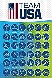 Pyramid America Olympics 2016 Team USA Sports Poster 24x36 inch