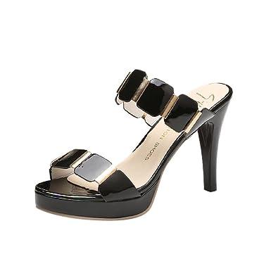 1d0ee37a87b DENER Women Ladies Girls High Heels Sandals