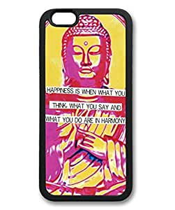 Buddha With Quote Theme Iphone 6 Case TPU Material (4.7inch) by Maris's Diary