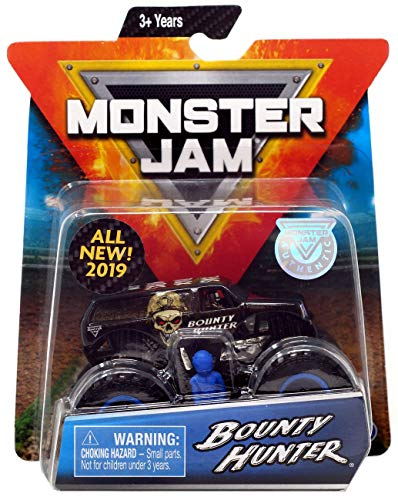 MJ New 2019 Monster JAM 1:64 Scale Bounty Hunter ()