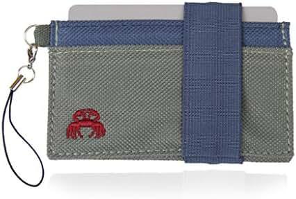 Crabby Wallet - Thin Minimalist Front Pocket Wallet - C3 Canvas Wallet