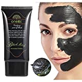 Deep Cleansing Pores Charcoal Black Facial Mud Mask- Blackhead Peel Off Remover - Deep Skin Oil Control Pore Cleansing - Purifying Anti-Acne Treatment for Smoother and Tender Face - 50 ML Bottle