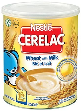 Nestlé Cerelac Infant Cereal Honey & Wheat with Milk 12 months+, 400g (Pack of 6) CERMI