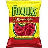 Funyuns Flamin' Hot Onion Flavored Rings, 6 oz. Bag [並行輸入品]