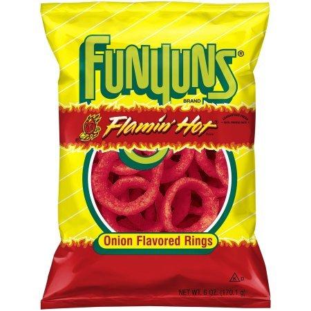 Flamin Hot Funyuns 6 Ounce (1 bag)