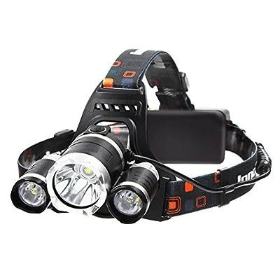 Super Bright Headlamp 6000 Lumens 3 Light 4 Modes LED Headlamp Flashlight Best For Outdoor Camping Biking Hunting Fishing