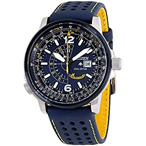 Citizen BJ7007-02L Promaster Nighthawk Men's Watch Blue 42mm Stainless Steel