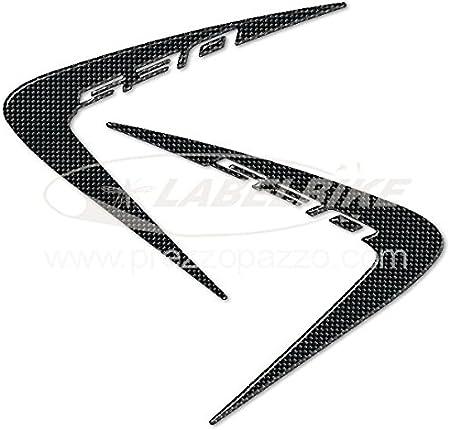 Negro 2 Adhesivos-Stickers Gel 3D Pegatinas T MAX 2012-2016 Compatible para Yamaha Tmax 530