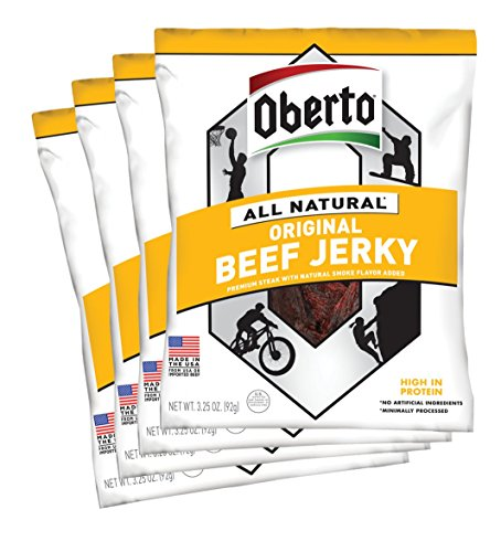 Oberto All-Natural Original Beef Jerky,...
