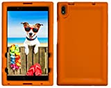 BobjGear Bobj Rugged Tablet Case for Lenovo Tab 4 8 Plus (TB-8704V, TB-8704XF, TB-8704X, TB-8704A) - BobjBounces Kid Friendly (Outrageous Orange)