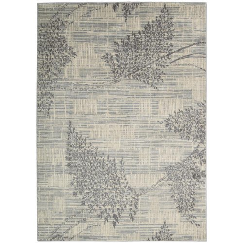 (Nourison Utopia (UTP02) Champagne Rectangle Area Rug, 3-Feet 6-Inches by 5-Feet 6-Inches (3'6