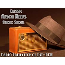8 Classic Anson Weeks Old Time Radio Broadcasts on DVD