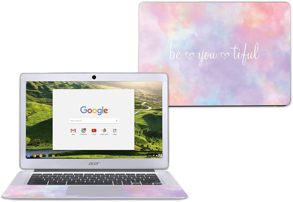 "MightySkins Skin Compatible with Acer Chromebook 14"" CB3-431 - BeYouTiful 