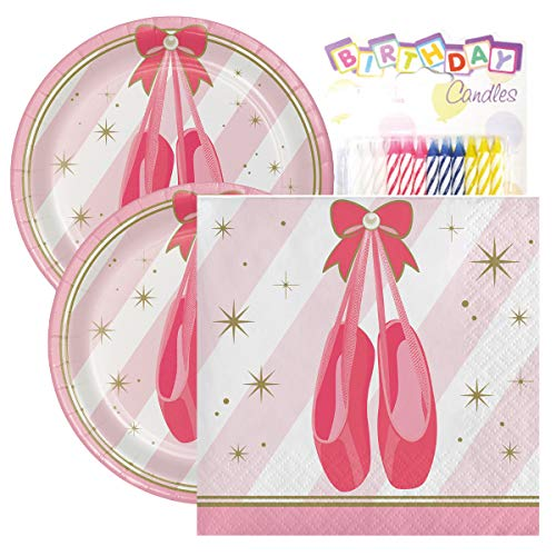 Twinkle Toes Birthday Party Pack - Includes 7