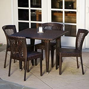 516oxgOeDcL._SS300_ Wicker Dining Tables & Wicker Patio Dining Sets