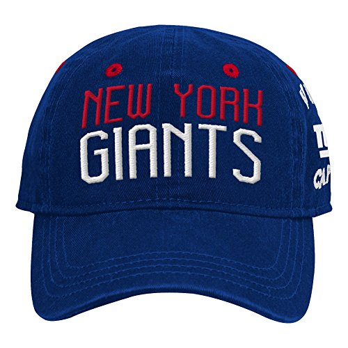 87fa144932d Outerstuff NFL NFL New York Giants Infant My First Slouch Hat Dark Royal