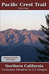 Pacific Crest Trail Pocket Maps - Northern California by K. Scott Parks (2011-12-01)