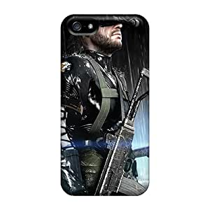 Sanp On Case Cover Protector For Iphone 5/5s (metal Gear Solid Ground Zero)