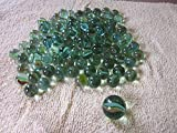100 pcs Glass Marbles with Shooter