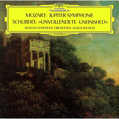 SACD : JOCHUM,EUGEN - Schubert: Symphony 8 /  Mozart: Symphony 41 Jupiter (Limited Edition, Direct Stream Digital, Super-High Material CD, Japan - Import, Single Layer SACD)