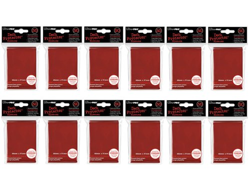 (600x) Ultra PRO Red Deck Protectors Sleeves Standard MTG Colors by Ultra Pro
