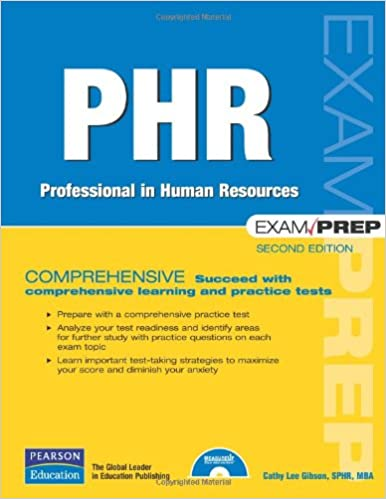 phr exam prep: professional in human resources (2nd edition): cathy ...