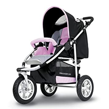 Amazon.com : Zooper Boogie Stroller Pink (Discontinued by ...