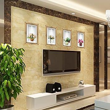 Amazon.com: Generic 3D European simplicity TV wall sticker living ...