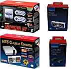 Nintendo SNES and NES Classic Mini Console Bundle