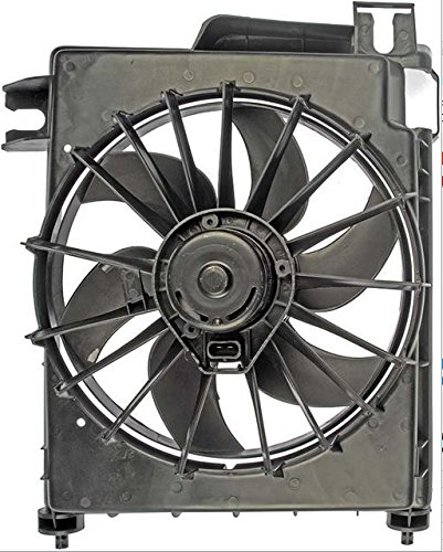 A/c Condenser Fan Shroud Assembly (A/C Condenser Fan Assembly - Cooling Direct For/Fit CH3113103 02-08 Dodge Pickup 3.7/4.7/5.7/5.9L Exc. 8.0/8.3L)