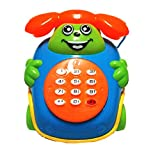 Kanzd Baby Toys Music Cartoon Phone Educational Developmental Kids Toy Gift New (A)
