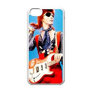 iphone5c case (TPU), david bowie eye patch Cell phone case White for iphone5c - FFFG4170110
