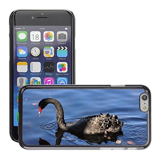 """Just Phone Cases Hard plastica indietro Case Custodie Cover pelle protettiva Per // M00127941 Black Swan Ave Swan animaux Faune // Apple iPhone 6 PLUS 5.5"""""""