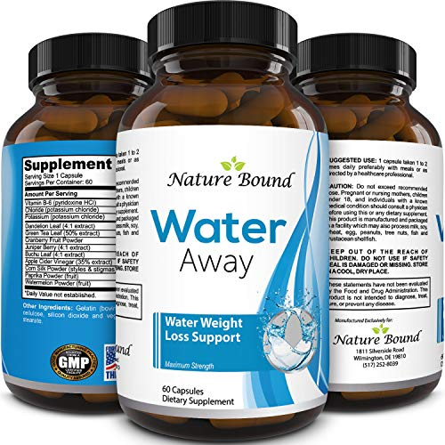 Water Pills for Bloating - Premium Weight Loss Supplement for Women and Men - Reduce Water Retention - Antioxidant Green Tea and Vitamin B6 Boost Metabolism and Energy - Maximum Strength Fat Burner