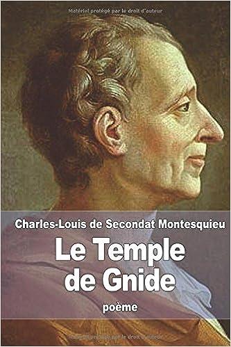Ebooks gratuits pour iphone 4 télécharger Le Temple de Gnide 1518895093 PDF FB2
