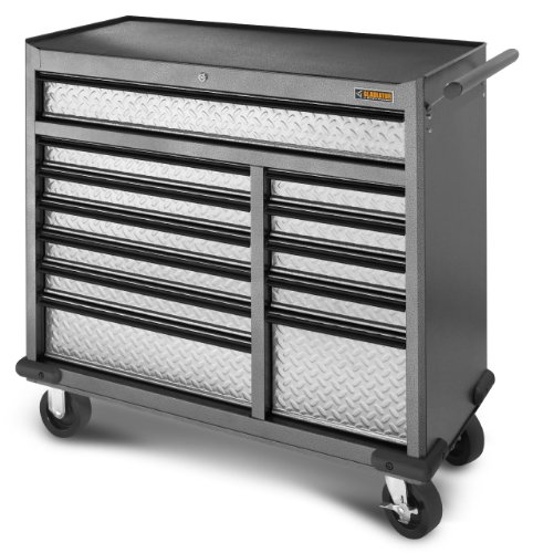 Gladiator GarageWorks GATR4112WG Premier Series 12-Drawer 41-Inch Roll-Away (Gladiator Tool Chest compare prices)