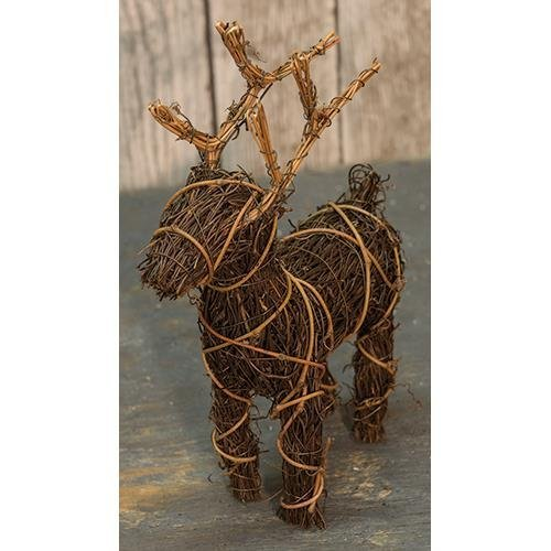 Heart of America Angel Vine Reindeer 6X8