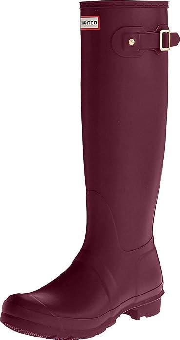 la moitié prix de détail vente chaude authentique Hunter High Wellington Boots, Bottes & Bottines de Pluie Femme