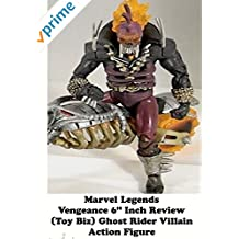 "Review: Marvel Legends Vengeance 6"" Inch Review (Toy Biz) Ghost Rider Villain Action Figure"
