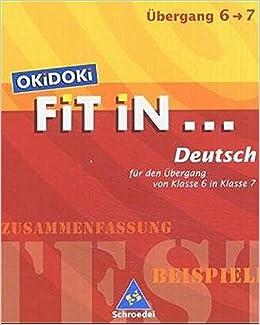 Okidoki Fit In Okidoki Fit In Deutsch Für Den Einstieg In