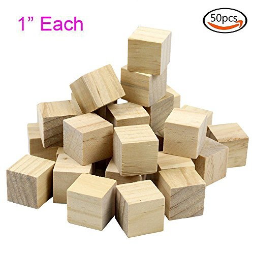Goodlucky Natural Unfinished Craft Blocks product image